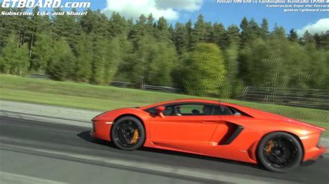 Race Lamborghini Vs Roll Race 599 Gto Vs Lamborghini Lp700 4