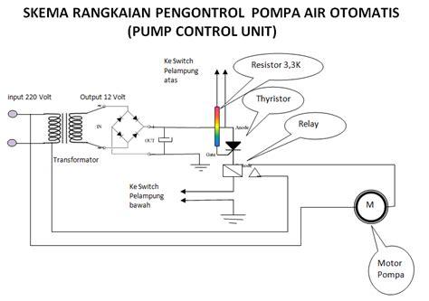 rangkaian kapasitor pada pompa air informasi dan ilmu pengetahuan membuat pengontrol pompa air otomatis