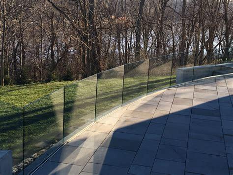 glass railings  windbreaks ad glass mirror