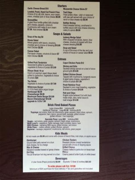 River Lodge In Room Menu Fotograf 237 A De Wilderness At The Smokies Sevierville Tripadvisor Room Service Breakfast Menu Template