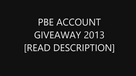 League Of Legends Pbe Free Account Giveaway - lol pbe account giveaway 2013 sep 09 end sep 30 free rp ip creater viktor skin