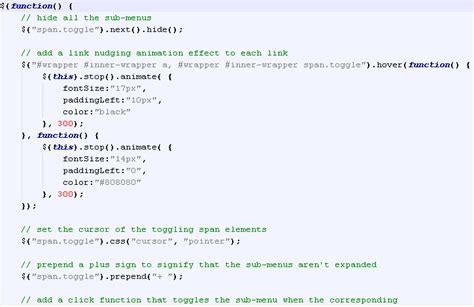 format html code javascript assignment make website