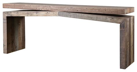 pallet console table sofa side table console table