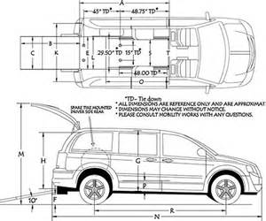 Dodge Grand Caravan Cargo Dimensions Dodge Caravan Cargo Space Dimensions Image 1