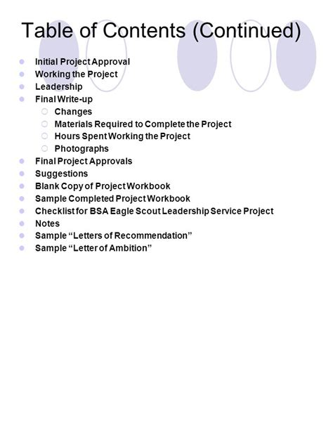 Eagle Scout Leadership Service Project Planning Guide Ppt Download Eagle Scout Project Write Up Template