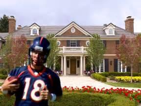 peyton manning home take a tour of peyton manning s new 4 5 million denver