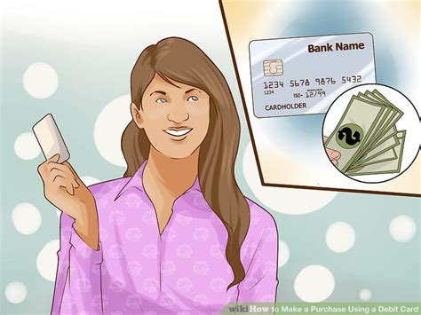 how to make purchases with a debit card how to make a purchase using a debit card 14 steps
