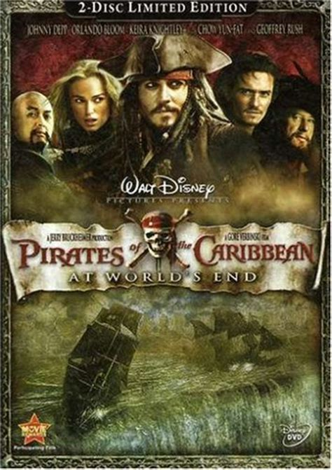 Of The Caribbean 3 At Worlds End by Of The Caribbean At Worlds End 2007 Dvd Hd Dvd