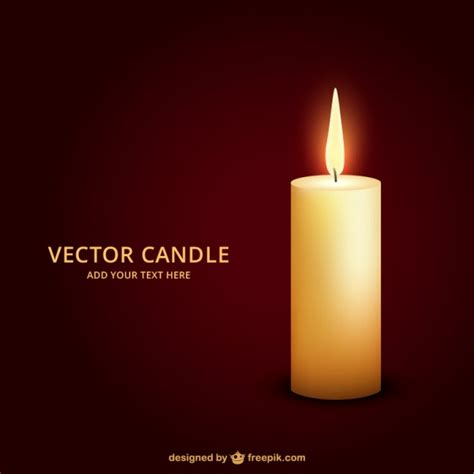 candele on line lighted candle vector free