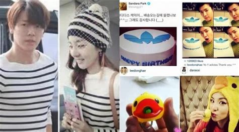 Kaos I Am I Am Donghae netter tunjukkan bukti donghae suju dan dara 2ne1 pacaran