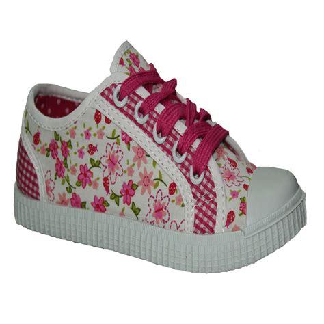 flat pumps school shoes canvas trainers infants