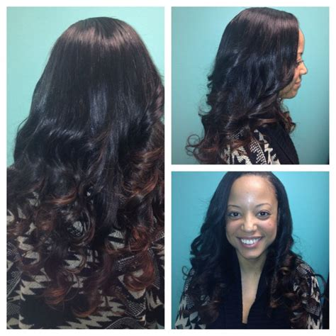 sewi in tutorials with leave out side part sew in with leave out hairstylegalleries com