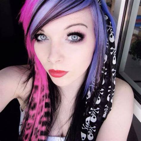 edgy emo hairstyles 60 creative emo hairstyles for girls