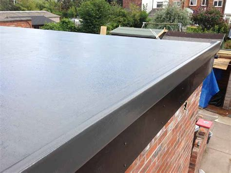 fibreglass flat roofing in grp johnson roofing services in cheshire