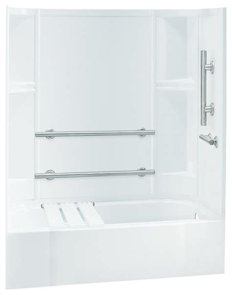 Sterling Tub Shower Units by Sterling Accord 72 Quot X30 Quot X60 Quot Vikrell Tub Shower Traditional Shower Stalls And Kits By Transolid