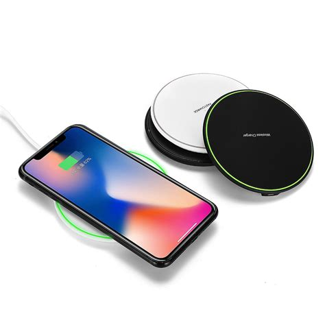 qi wireless charger  fast charging pad dock  samsung