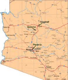 sedona arizona maps directions for tourists and visitors