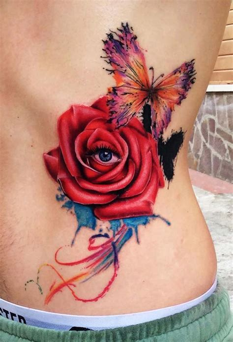 tattoo rose and eye 40 eye catching rose tattoos nenuno creative