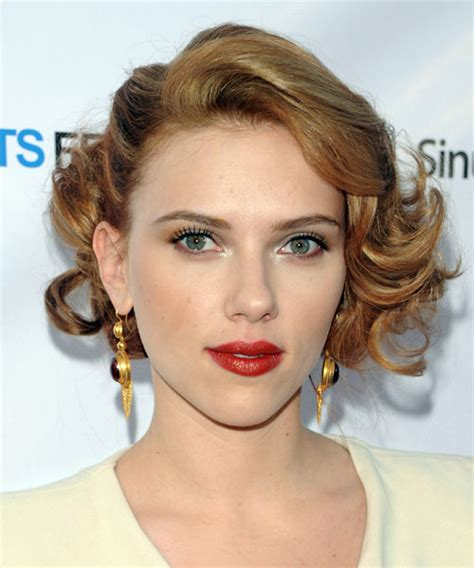 diamond face curly hairstyles scarlett johansson hairstyles in 2018