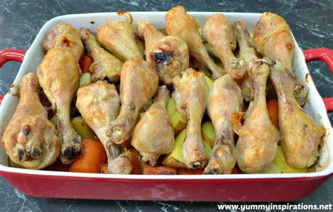 baked chicken drumsticks recipe