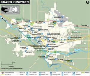 map of colorado grand junction grand junction map map of grand junction colorado