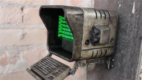 home decor magazines fallout 4 fallout 4 terminal recreated using a 3d printed case and
