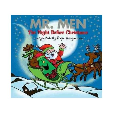 libro the night before christmas mr men the night before christmas english wooks