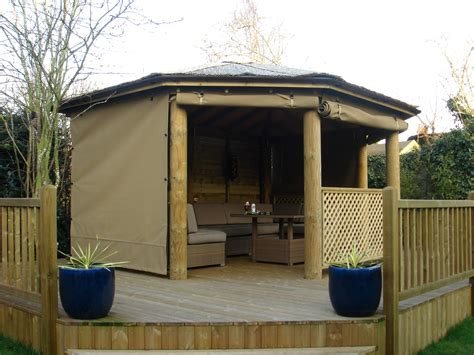 Canvas Garden Gazebo Wooden Gazebo With Sides Design Ideas Gazebo Ideas