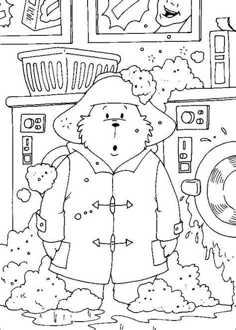 Coloring Pages Paddington Bear Picture 2