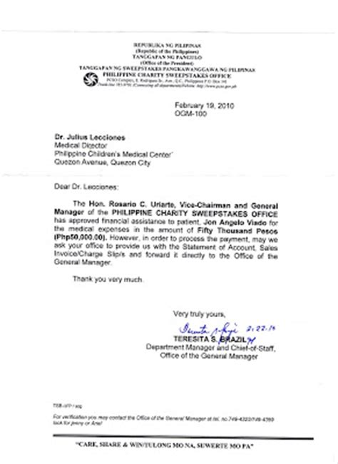 Business Letter Requesting Assistance Sle Letter Of Request For Financial Assistance From The Patient Sle Donation Request