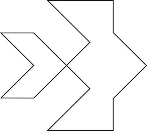 Printable Tangram Puzzle Outlines | beta fish clipart etc