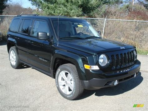 Forest Green Jeep Black Forest Green Pearl 2013 Jeep Patriot Sport 4x4