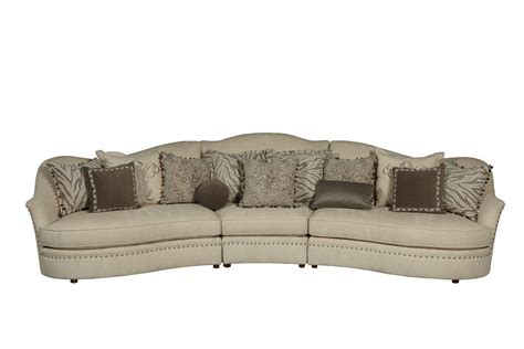 ivory sectional ivory sectional sofa curved sectional shop factory direct