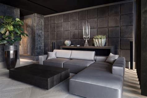 modern home interior design 2016 modne wykończenie ścian w salonie zdjęcie nr 3