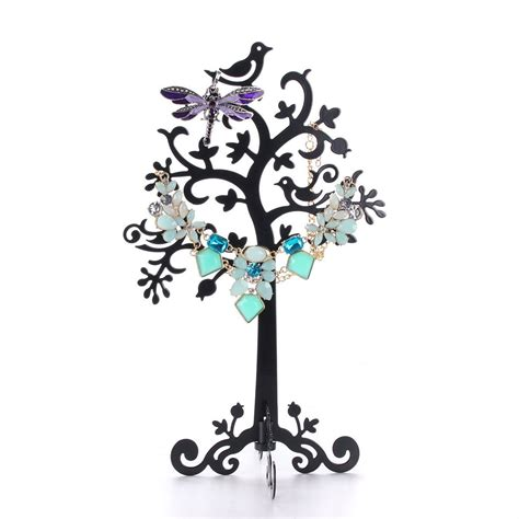 decorative metal jewelry tree stand holder decor home ideas