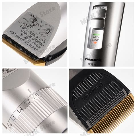 panasonic trimmer charger panasonic er1511 professional rechargeable cordless hair