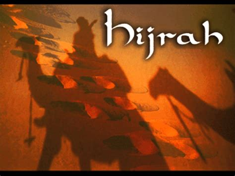 Hijrah From hijrah migration for peace