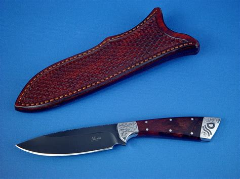 designer knife quot rio grande quot custom handmade knife by jay fisher