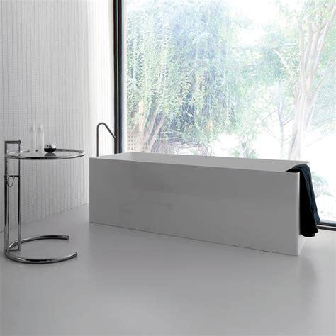 vasche da bagno rettangolari vasche freestanding e design vasca da bagno dual