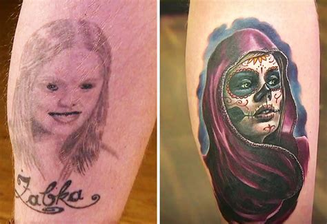 10 creative cover up tattoo ideas to fix old tattoo fails
