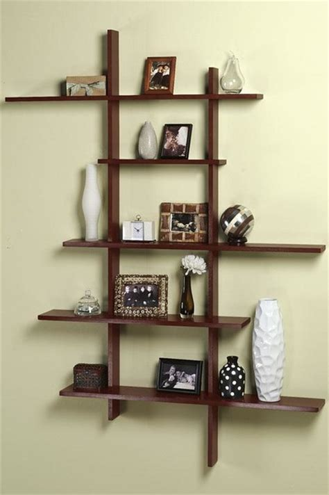 contemporary display shelf modern display and