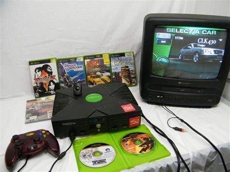 console by microsoft microsoft original xbox console w