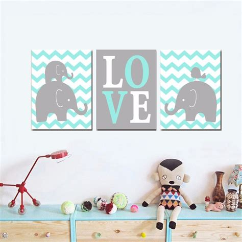 Nursery Wall Art Roselawnlutheran Nursery Wall Decor For Boys