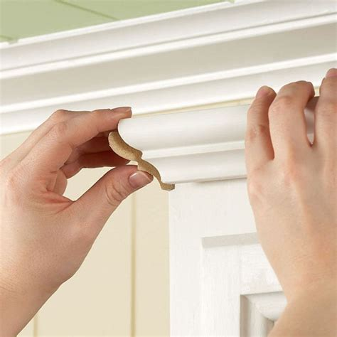 how do you install crown molding on cabinets 66 best cabinet moldings images on pinterest home ideas