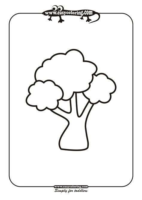 Simple Tree Roots Coloring Coloring Pages Simple Tree Coloring Pages