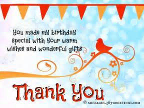 birthday thank you messages thank you for birthday wishes 365greetings