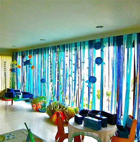 Sea Themed Curtains Decor 17 Best Ideas About Underwater Theme On Pinterest Underwater