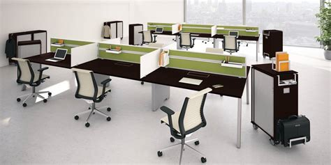 bench store manager fusion bench work surface desk organization steelcase