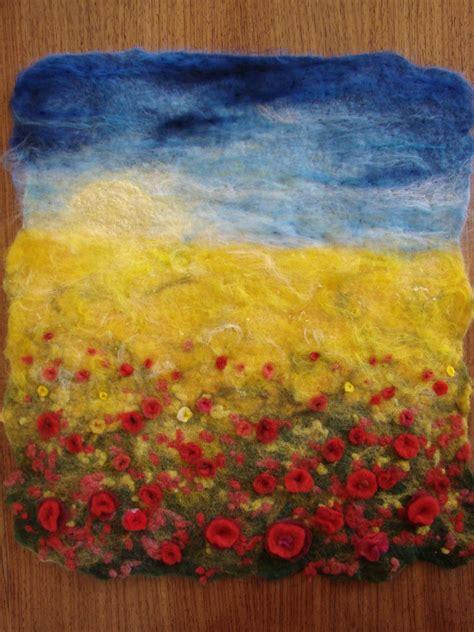 landscape felting workshop flickr