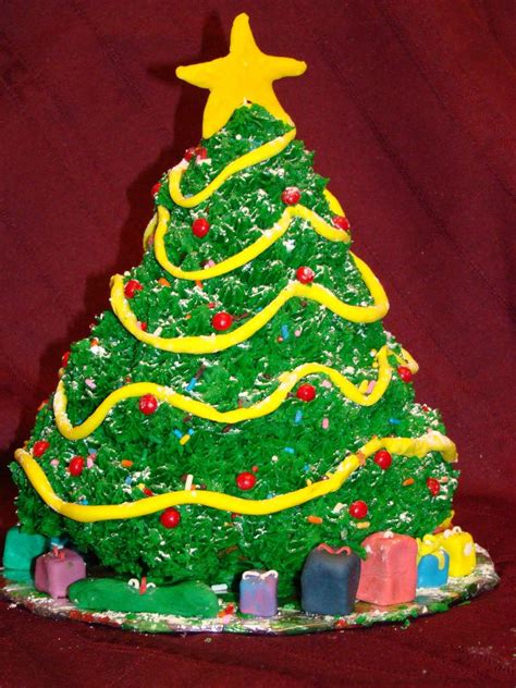 3d christmas tree cakecentral com